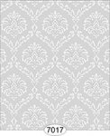 Wallpaper - Ethereal Damask Grey