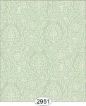 Wallpaper Birch Damask Green Mint