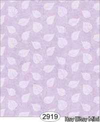 Wallpaper Birch Leaf Silhouette Purple