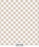 Wallpaper - Daniella Plaid - Beige No Border