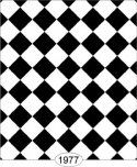 Wallpaper - Tile - Black and White Diamond - 0.25 inch