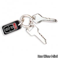 1/6 Scale Miniature Car House Key Chain Fob