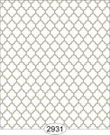 Wallpaper Geometric Trellis Brown Beige