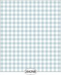 Wallpaper - Daisy Check Blue
