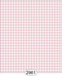 Wallpaper Birch Houndstooth Pink Light