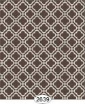 Wallpaper Rose Hill Trellis Brown