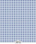 Wallpaper - Cottage Plaid - Blue Dark
