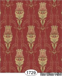 Wallpaper - Tulip Tapestry - Red 5:Cover