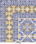 Wallpaper - Decorative Tile - 1692