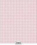 Wallpaper Birch Houndstooth Pink Rose