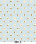 Wallpaper - Daisy Floral Dot Blue
