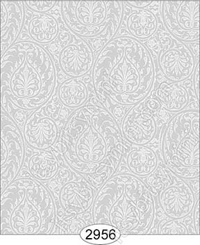 Wallpaper Birch Damask Grey - Click Image to Close