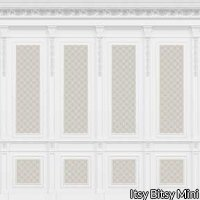 French Wall Panel Boiserie Beige