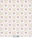 Wallpaper - Daniella Doily - Beige No Border