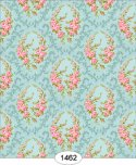 Wallpaper - Parisian Floral Wreath