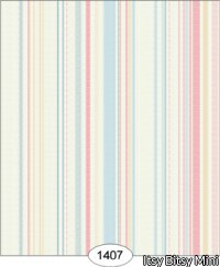 Wallpaper - Emma - Stripe - Blue