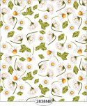 Wallpaper - Daisy Toss White