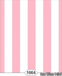 Wallpaper - Elle - Pink Stripe