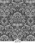 Wallpaper - Annabelle Damask Black