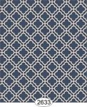 Wallpaper Rose Hill Trellis Blue Navy