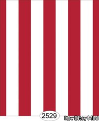 Wallpaper - Red White Stripe Thick