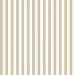 Wallpaper - Americana - Beige Stripe NO BORDER