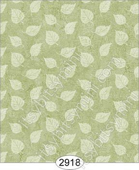 Wallpaper Birch Leaf Silhouette Green Spring - Click Image to Close