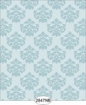 Wallpaper - Daisy Damask Blue