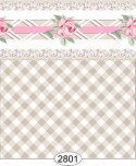 Wallpaper - Daniella Plaid - Beige
