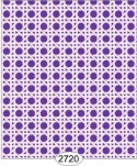 Wallpaper - Cane Lattice Purple Reverse