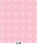 Wallpaper - Cottage Chic - Dot 2 Pink