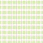 Wallpaper - Bird Pink on Green Plaid