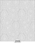 Wallpaper Birch Damask Grey