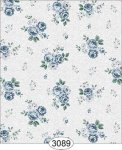 Wallpaper Rose Hill Small Floral Blue