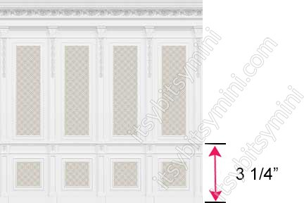 French Wall Panel Boiserie Beige - Click Image to Close