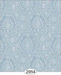 Wallpaper Birch Damask Blue