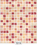 Wallpaper - Mosaic Tile - Red