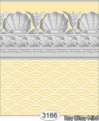 Wallpaper Jolie Shell Yellow