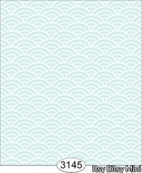Wallpaper Shell Aqua Blue