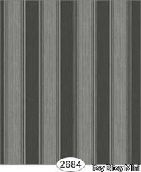 Wallpaper Rose Hill Stripe Black