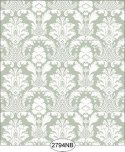 Wallpaper - Daniella Damask - Olive No Border