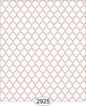 Wallpaper Geometric Trellis Orange Peach