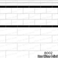 Wallpaper - Subway Tile - White