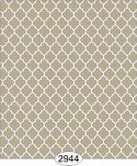 Wallpaper Geometric Trellis Reverse Brown Beige