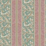 Wallpaper - Christina Scroll Stripe NO BORDER