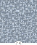 Wallpaper - Sakura Circles Blue