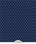 Wallpaper - Sailboat Dot - Blue Navy