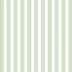 Wallpaper - Clothesline Green - Stripe NO BORDER