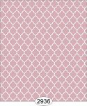 Wallpaper Geometric Trellis Reverse Pink Rose