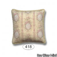 Pillow - Victoriana - Yellow - Dot